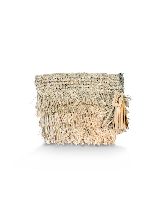 Raffia Fringe Bag