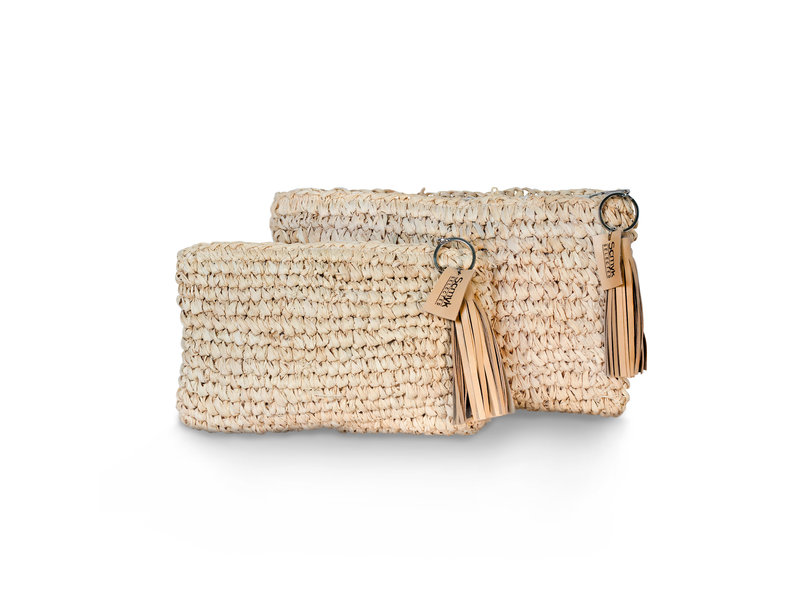 Straw Clutch Large