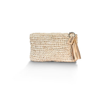 Straw Clutch Medium