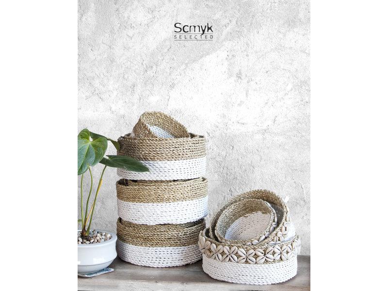 Pandan Baskets with Shell Set