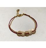 Bracelet Bogota Burgundy