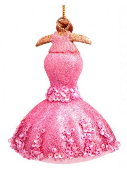 Vondels Amsterdam  Vondels roze jurk