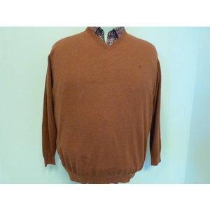 Casa Moda V-Ausschnitt sweater 004130/490 4XL