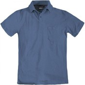 North 56 Polo 99011/055 Blau meliert 7XL