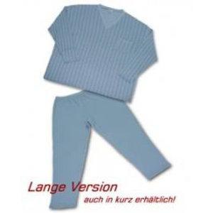 Schlafanzug Honeymoon blau 7XL