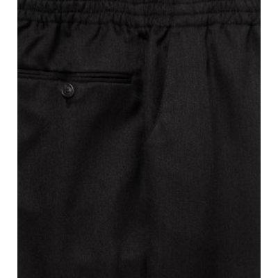 Luigi Morini Amberg elastische Hose schwarz Größe 30