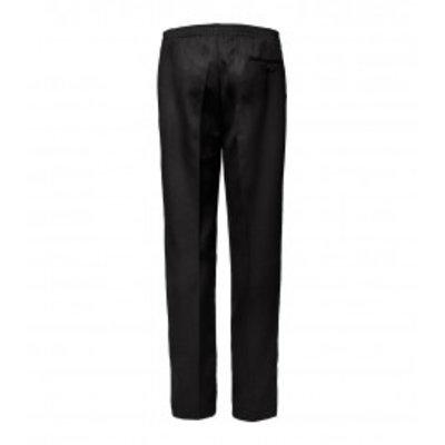 Luigi Morini Amberg elastische Hose schwarz Größe 32