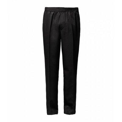 Luigi Morini Amberg elastische Hose schwarz Größe 33