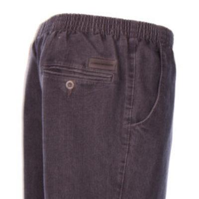 Luigi Morini elastische Jeanshosen Amberg schwarz Größe 33