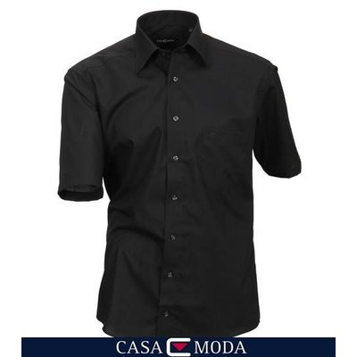 Casa Moda Hemd schwarzes 8070/80 - 7XL / 55-56