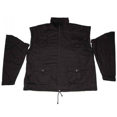 Honeymoon Jacke zip off 6015-99 schwarz 10XL