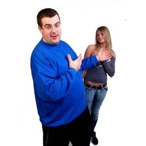 Honeymoon Sweatshirt 1000-79 königsblau 5XL