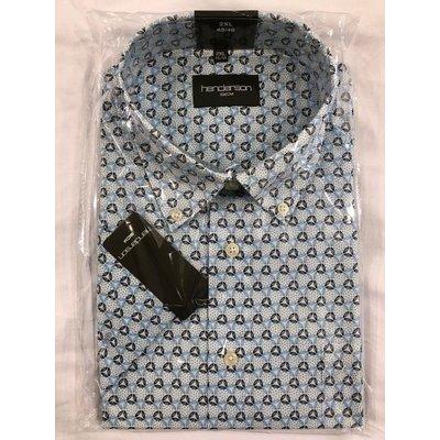Henderson 5060-600 aqua blue pattern 2XL