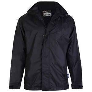 KAM Jeanswear Regenjacke KVS KV01 schwarz 4XL