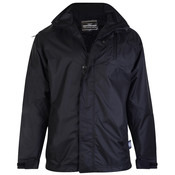 KAM Jeanswear Regenjacke KVS KV01 schwarz 8XL