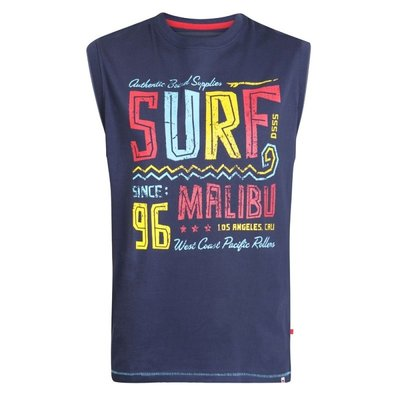 Duke/D555 Ärmelloses T-Shirt KS60649 8XL