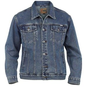 Duke/D555 Jeans Jacke demin blau 130110 5XL