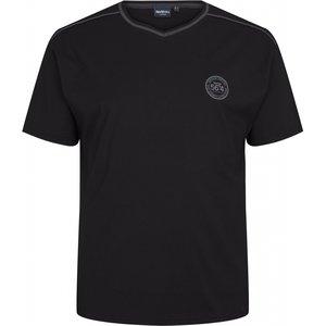 North 56 Pyjama-Shirt Shorts mit V-Ausschnitt 99818 2XL