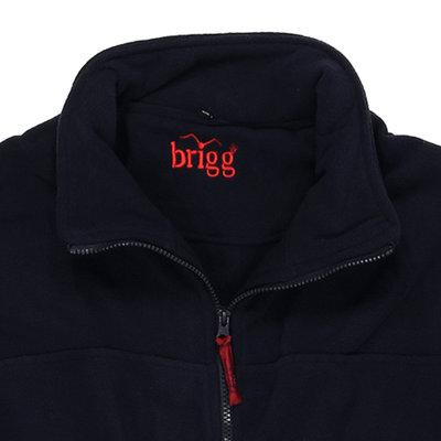 Brigg Fleecejacke marine 10824644 14XL