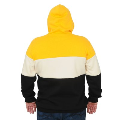 Kapuzenpullover 21323 gelb 3XL