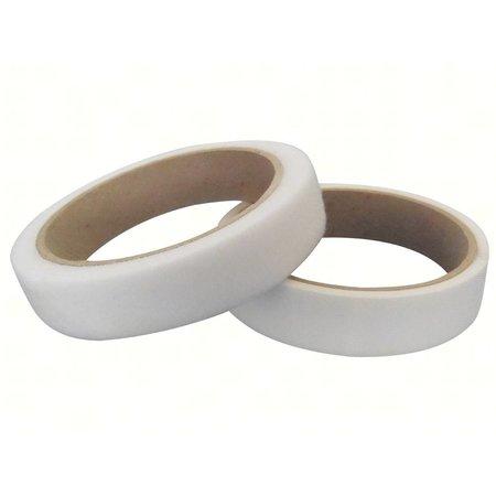 DynaLok Klittenband Extra Dun Naaibaar (harde + zachte kant), 20 mm., Wit