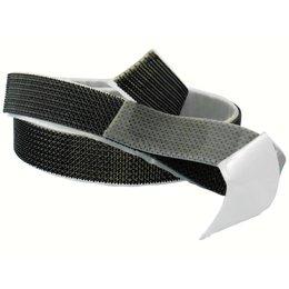 DynaLok M-Lock Plakbaar (zelfklevend), 25 mm. breed, zwart