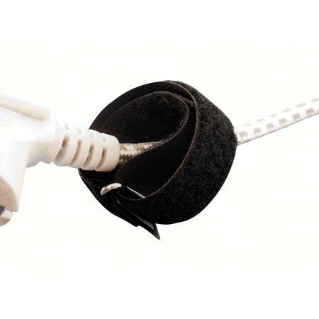 DynaLok ProTec C-Strap, 25 mm. breed met gesp, zwart met UW LOGO
