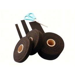 DynaLok Bundelband soepel, 16 mm. x 25 m., zwart