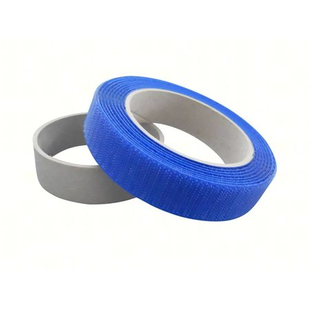 DynaLok Haakband Naaibaar (harde klittenband kant), Royal Bleu