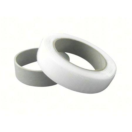 DynaLok Haakband Naaibaar (harde klittenband kant), Wit