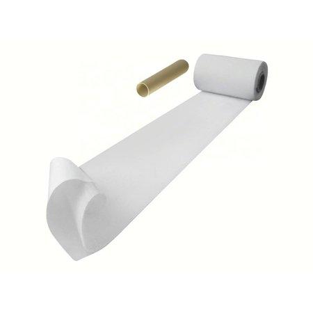 DynaLok Haakband (harde kant) met plakstrip, 100 mm. extra breed, wit, binnengebruik