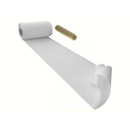 DynaLok Lusband met plakstrip (zachte kant), 100 mm. breed, wit, binnengebruik