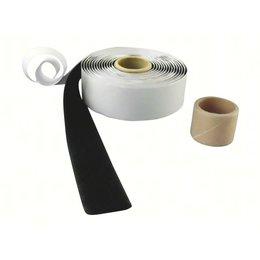 DynaLok Lusband plakbaar hlt, 25 mm. breed, zwart