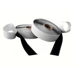 DynaLok Klittenband plakbaar hlt, 10 mm. x 25 m. zwart