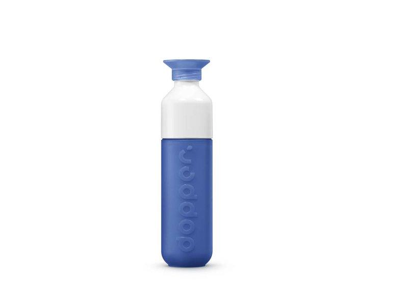 Drinkfles Waterfles DOPPER kleur:  Pacific Blue / Donker Blauw. De unieke Dopper Waterfles / Drinkfles
