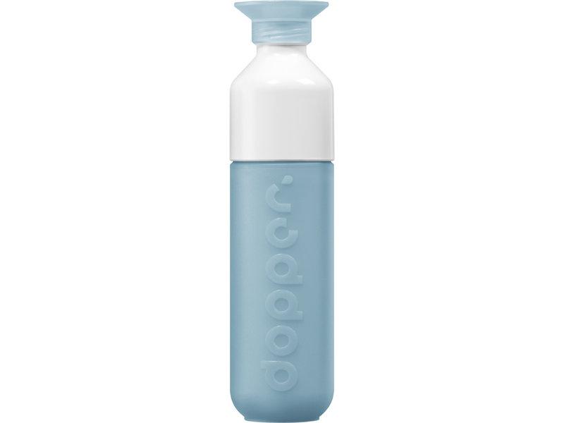 Drinkfles Waterfles Dopper kleur: Blue Lagoon / IJS Blauw. De unieke Dopper Waterfles / Drinkfles