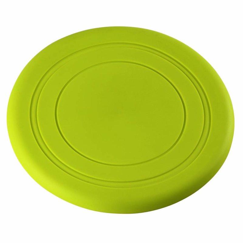 Funkit World Scrunch / Frommel Frisbee Siliconen in de fraaie kleur: LIME GROEN - maat: 18 cm doorsnede