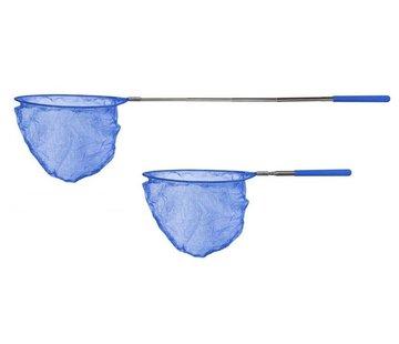 Wacky particals Uitschuifbaar kinder visnetje - Blauw