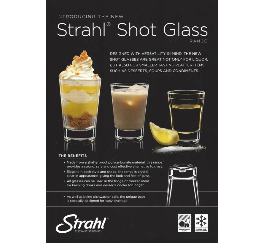 Strahl Borrelglas / Shotglaasje [74ml] - 532503