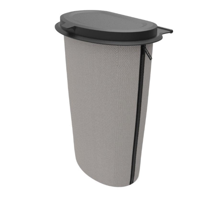 Flextrash Afvalbak 9 liter [L] -Knitted Grey