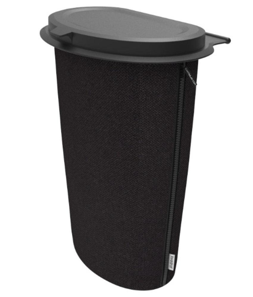 Allround Flextrash Afvalbak 9 liter ( L ) Zwart