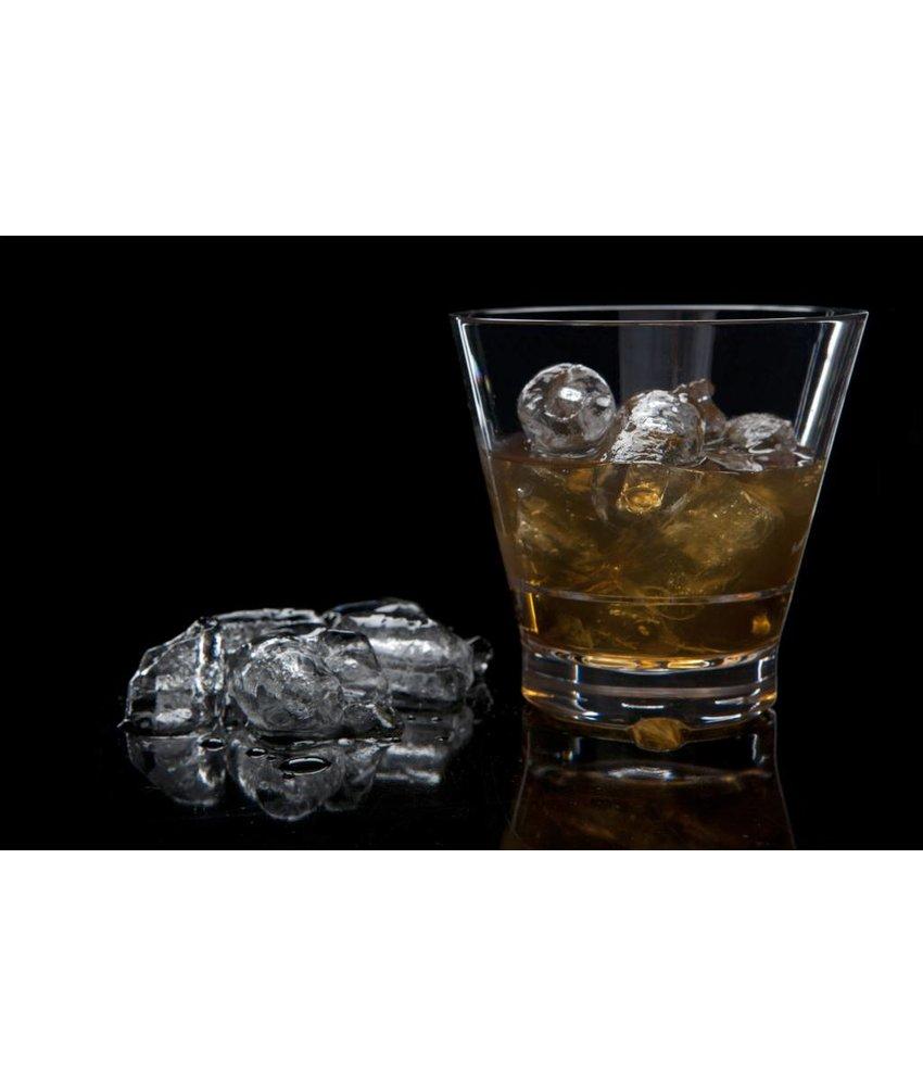 STRAHL Kloek Stapelbaar onbreekbaar glas | Luxe |0.41 ltr. Laag Capellastack