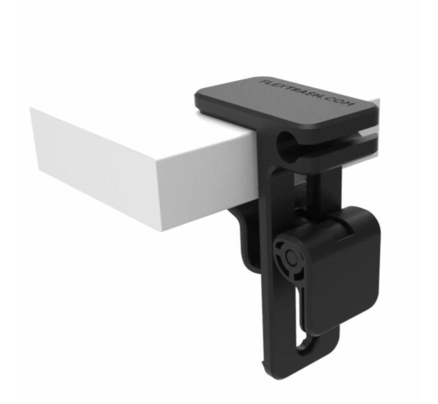 Flextrash Tafel Clip - Bevestig je Flextrash dmv tafelclip op veel plaatsen