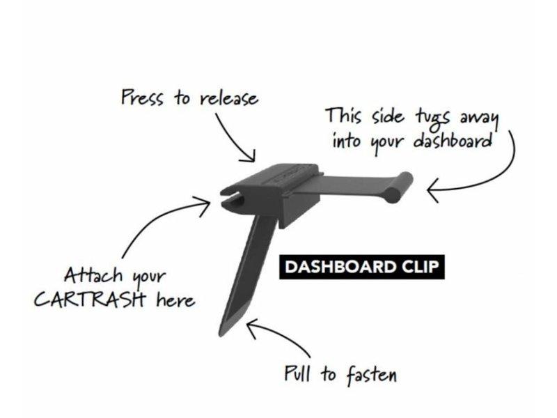 Flextrash Dashboard Clip - Dashbord kastje Clip - voor flextrash