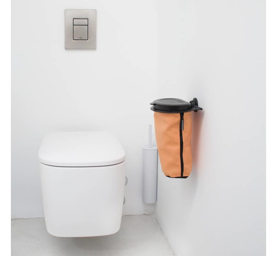 Flextrash Afvalbak 3 liter [S] - Outgoing Orange [Excl]