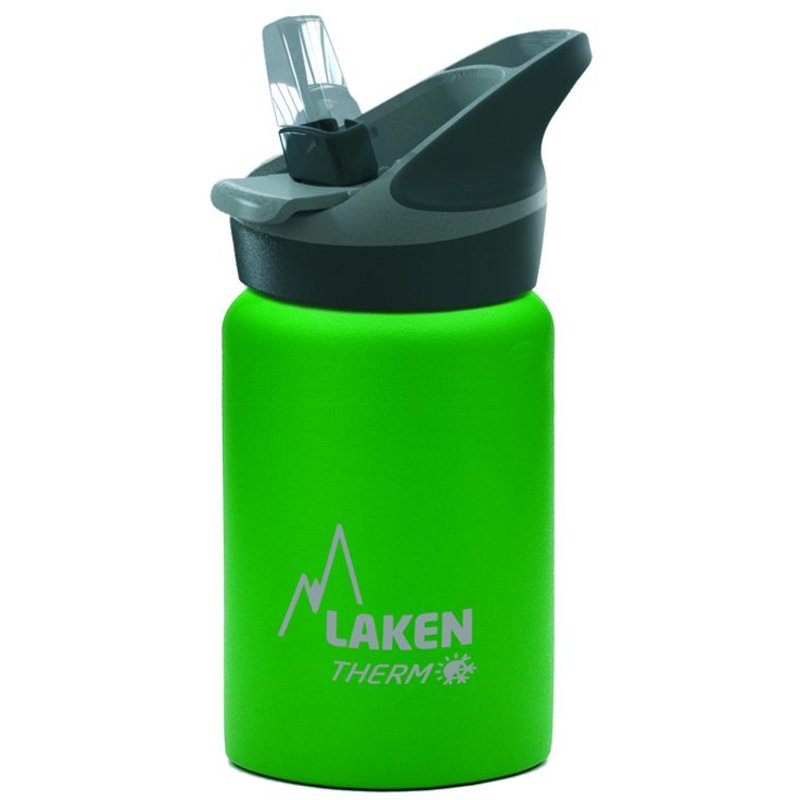 Super aktie ! GROEN  Isolerend  0.35 l.  RVS Waterflesje  - 0.35 ltr.   Merk: LAKEN Since 1912