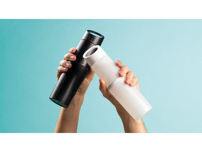 Nieuwe generatie Bio Waterflessen: BE O | Gemaakt van suikerriet ipv  Olie. 0.5 ltr. Zwart