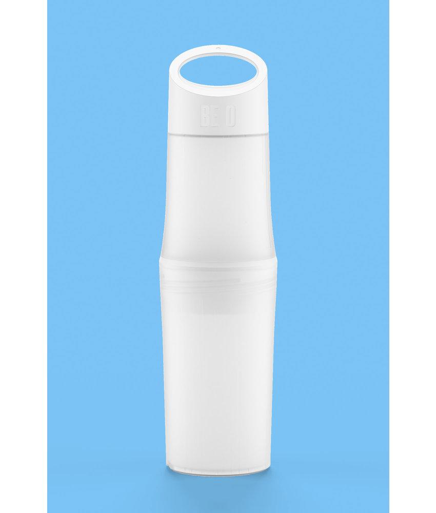 BE O Bottle Waterfles   0.5 ltr.  WIT