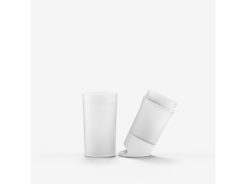 Unieke Bio Waterfles: BE O | Gemaakt van suikerriet ipv  Olie. 0.5 ltr. WIT