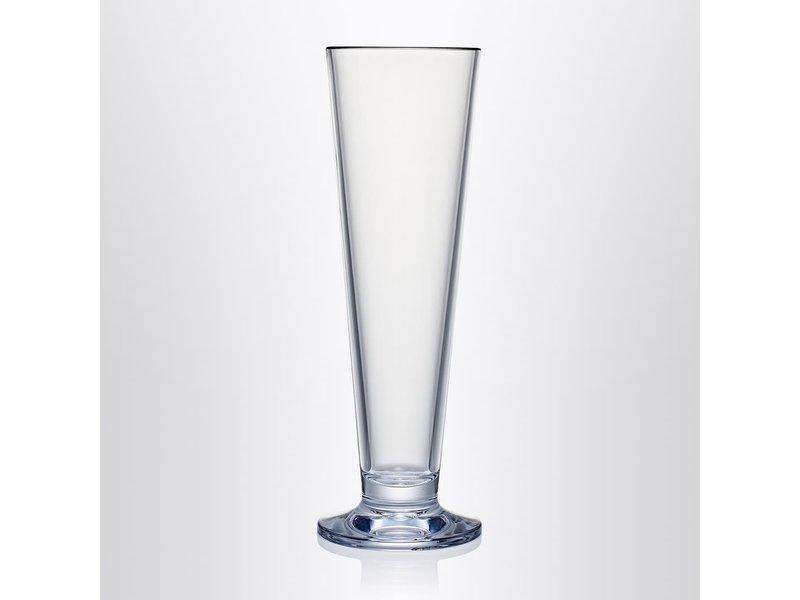 Bierglas op voet STRAHL 5 sterren Onbreekbaar 0.47 ltr. | no. 41160